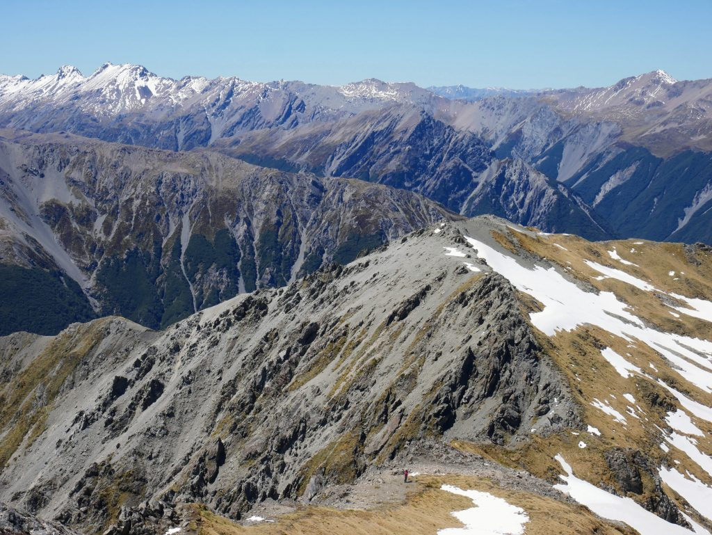 Mt Bealey ascent, Arthur's Pass National Park
