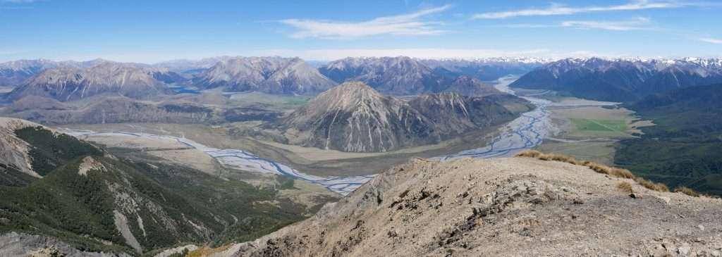 Mt Binser ascent, Arthur's Pass National Park