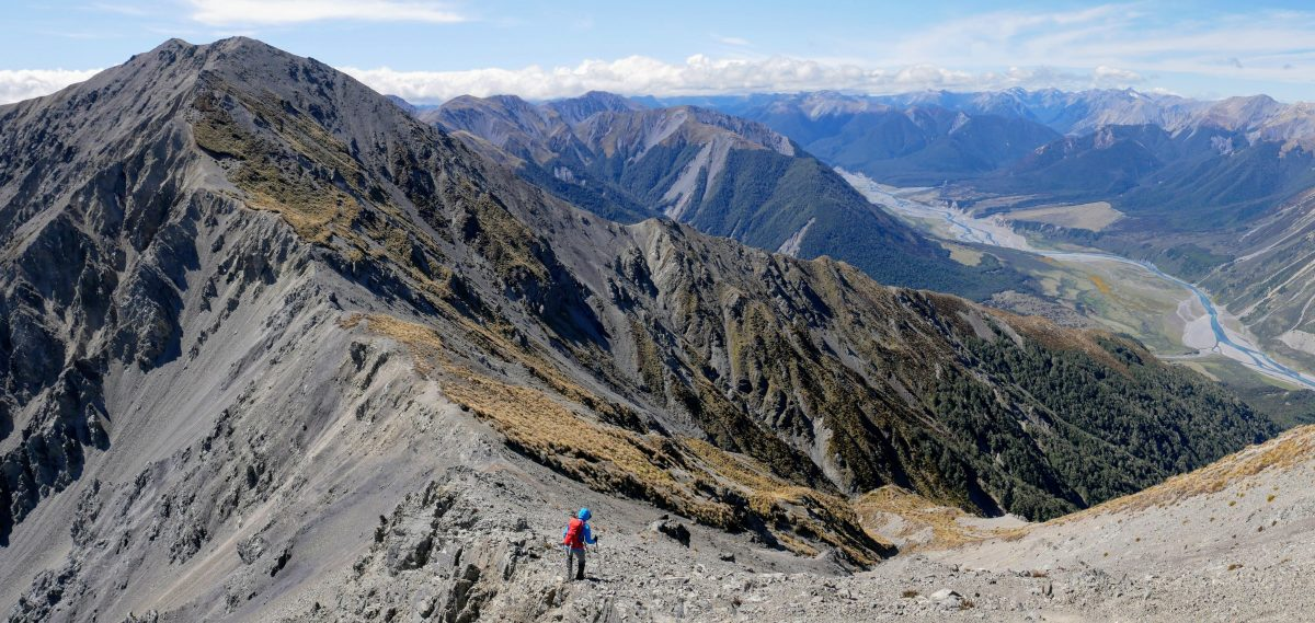 Mt Binser ascent, Arthur's Pass National Park NZ