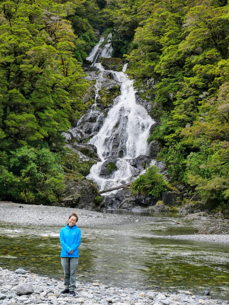 Fantail Falls, Mt Aspiring National Park