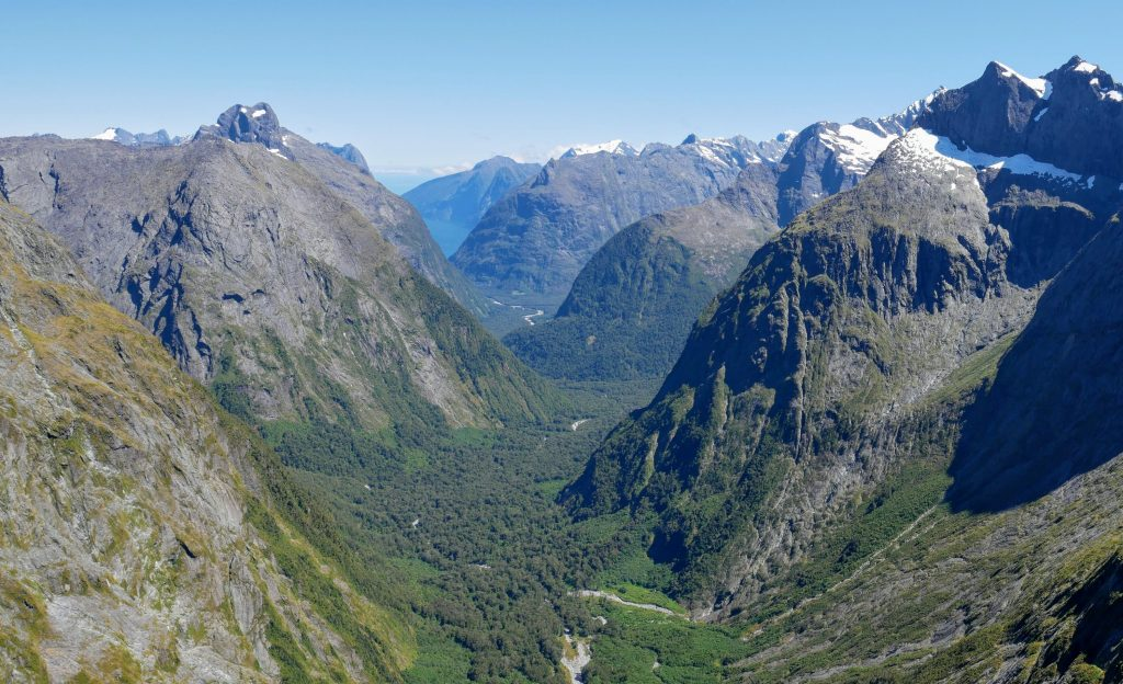 Gertrude Saddle & Barrier Knob, Fiordland