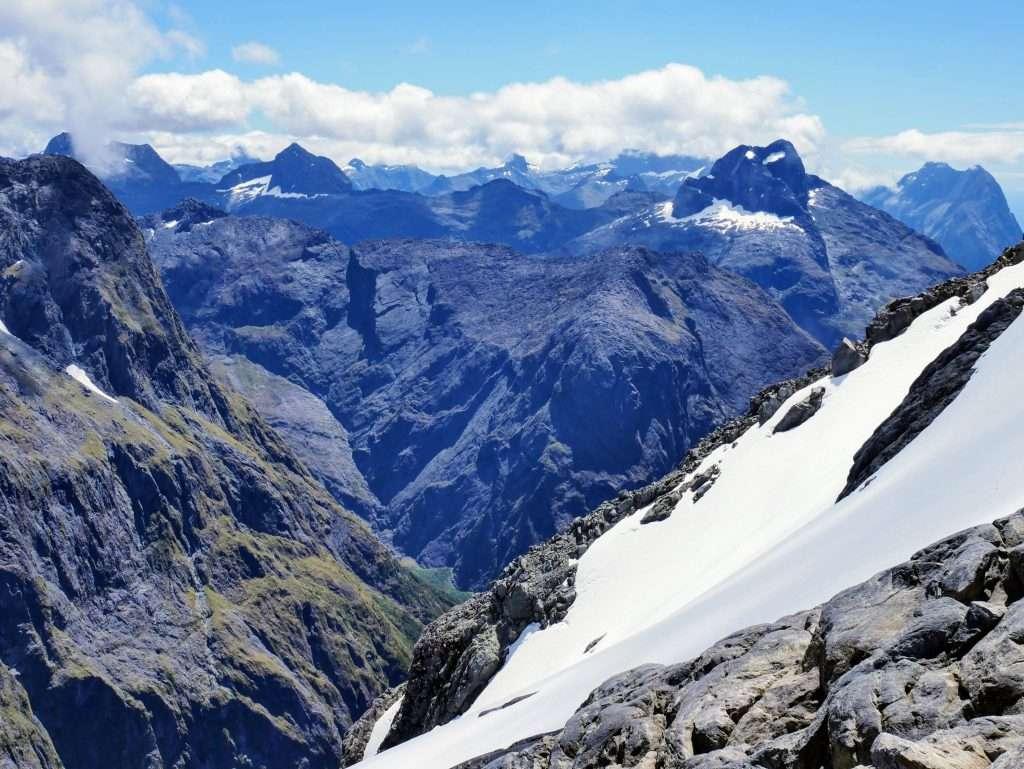 Gertrude Saddle & Barrier Knob, Fiordland