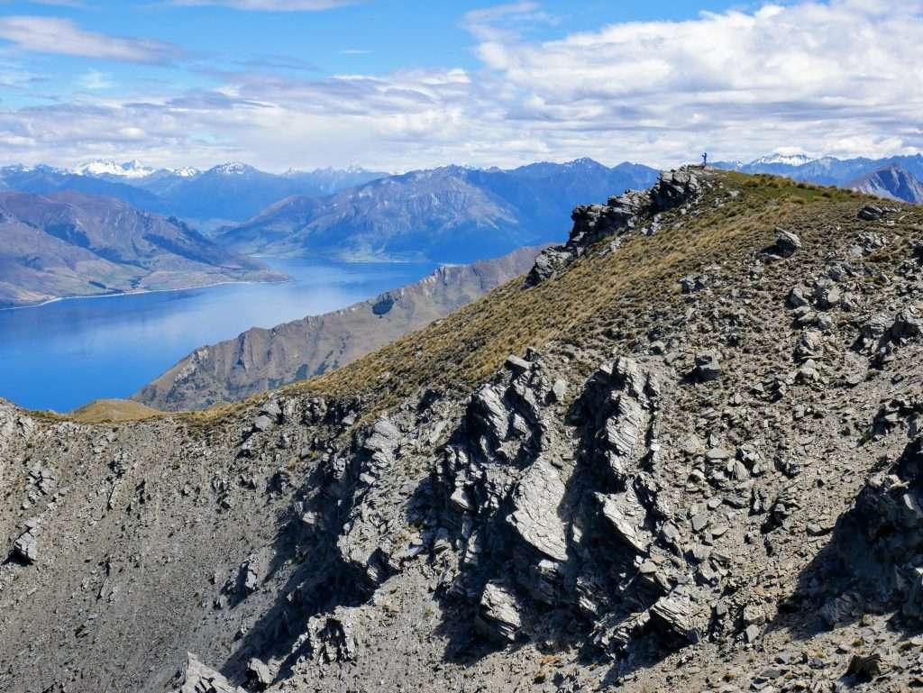 Breast Hill ascent, Lake Hawea