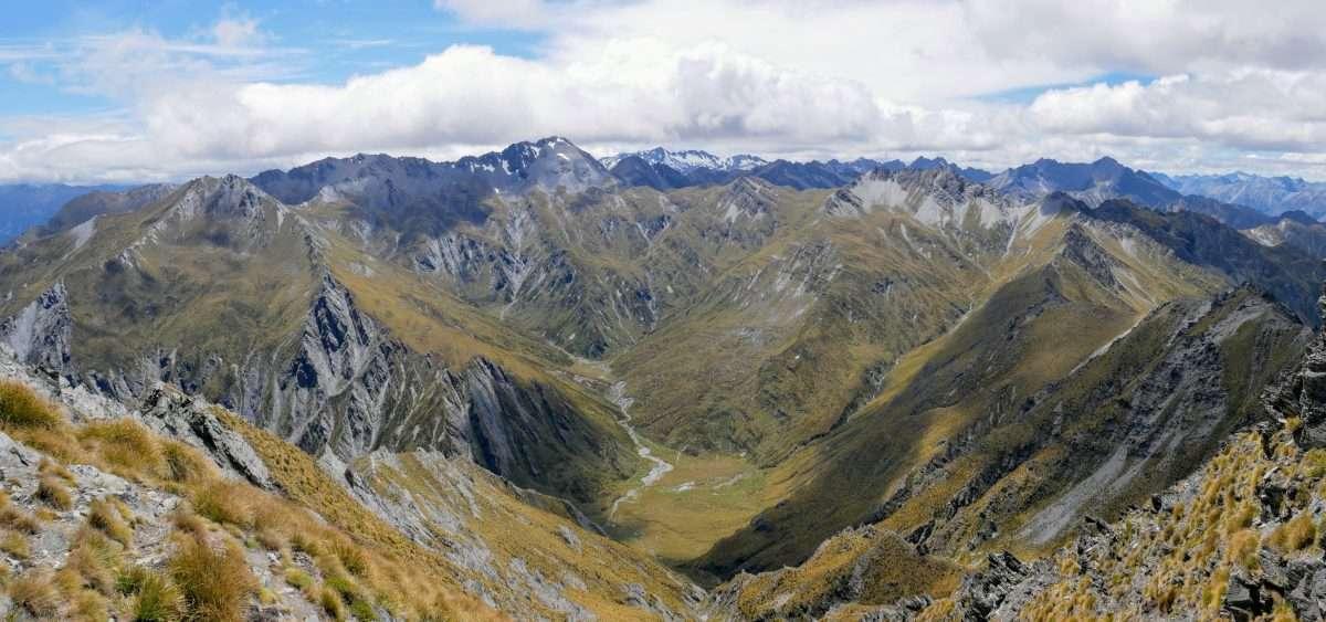 Sentinel Peak ascent, Lake Hawea, Otago NZ