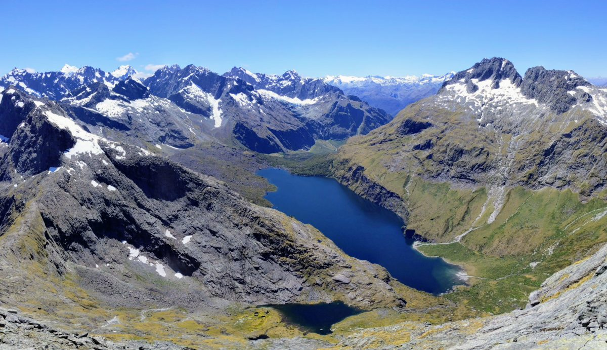 Gertrude Saddle & Barrier Knob, Fiordland National Park NZ