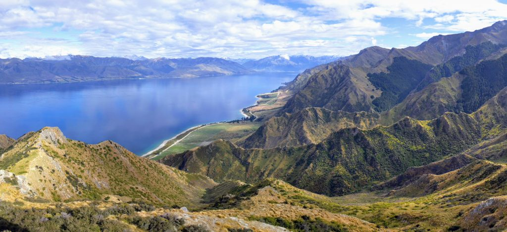 Breast Hill ascent, Lake Hawea
