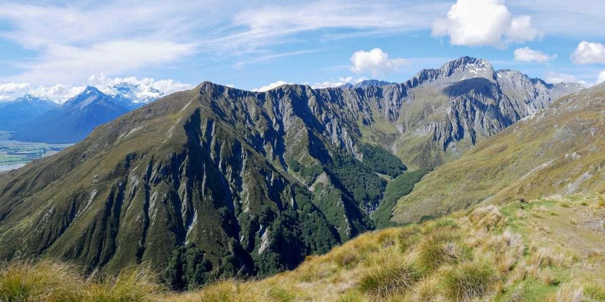 Mt McIntosh Loop Track, Whakaari Conservation Area, Glenorchy NZ