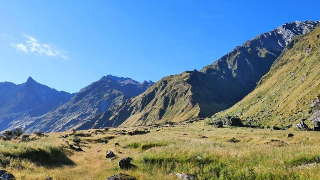 Red Rock via Shotover Saddle, Wanaka area