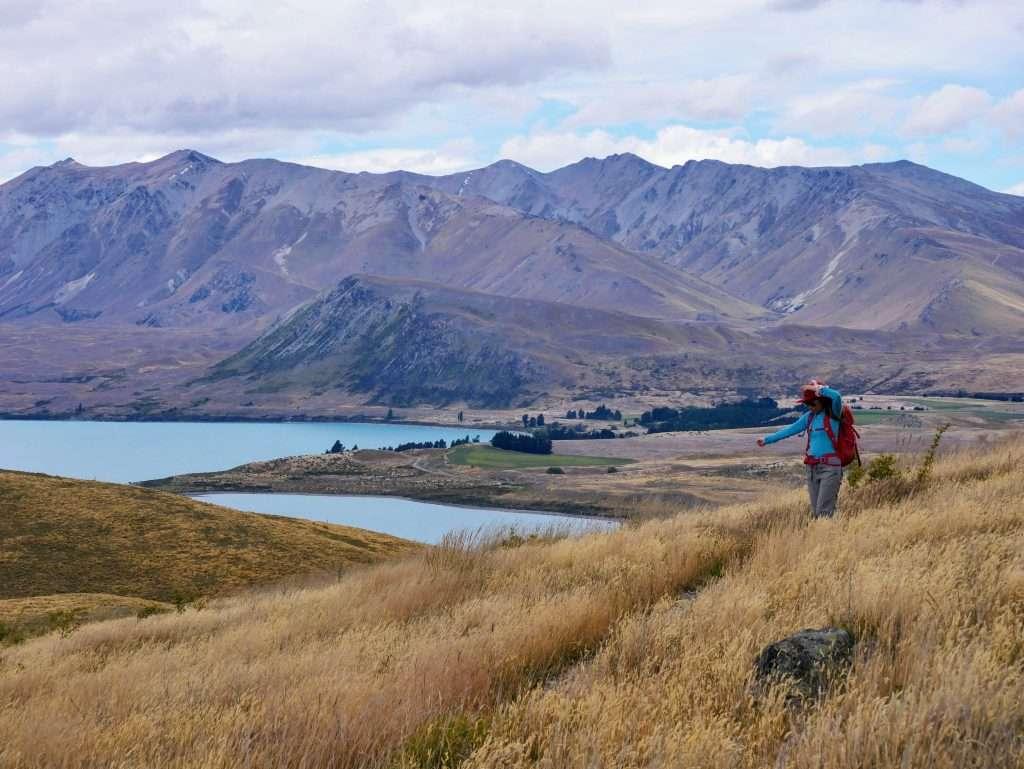 Tekapo Mt John Walkway, Lake Tekapo