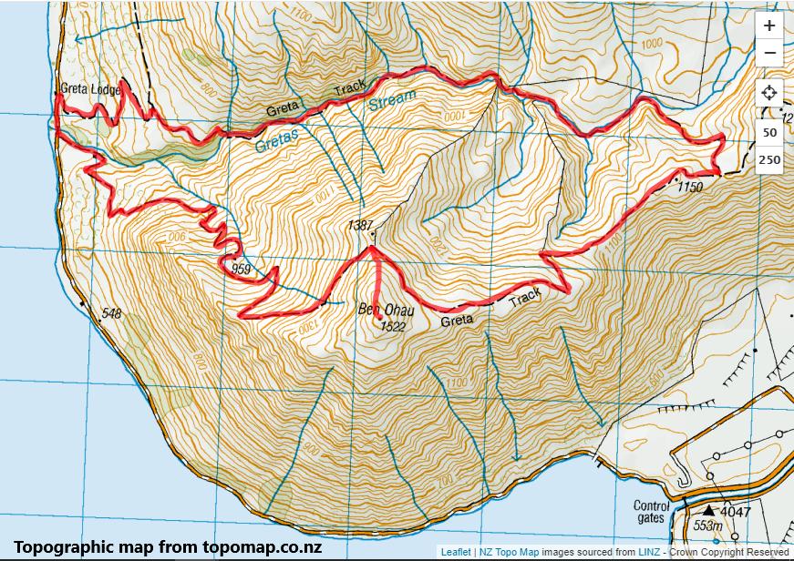 Greta Track and Ben Ohau, Lake Ohau