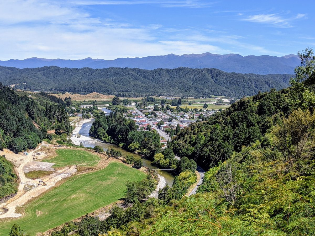 Pipeline & Tram Tracks plus Powerhouse Walk, Reefton, West Coast NZ