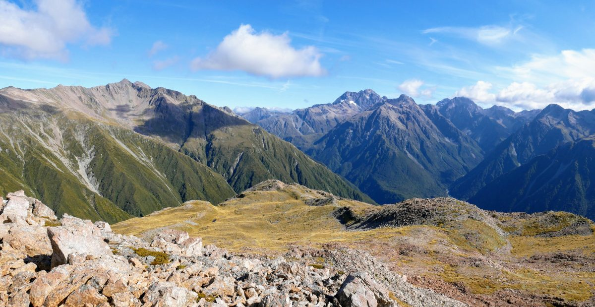 Goat Hill via Barrack Creek Route, Arthur's Pass NZ