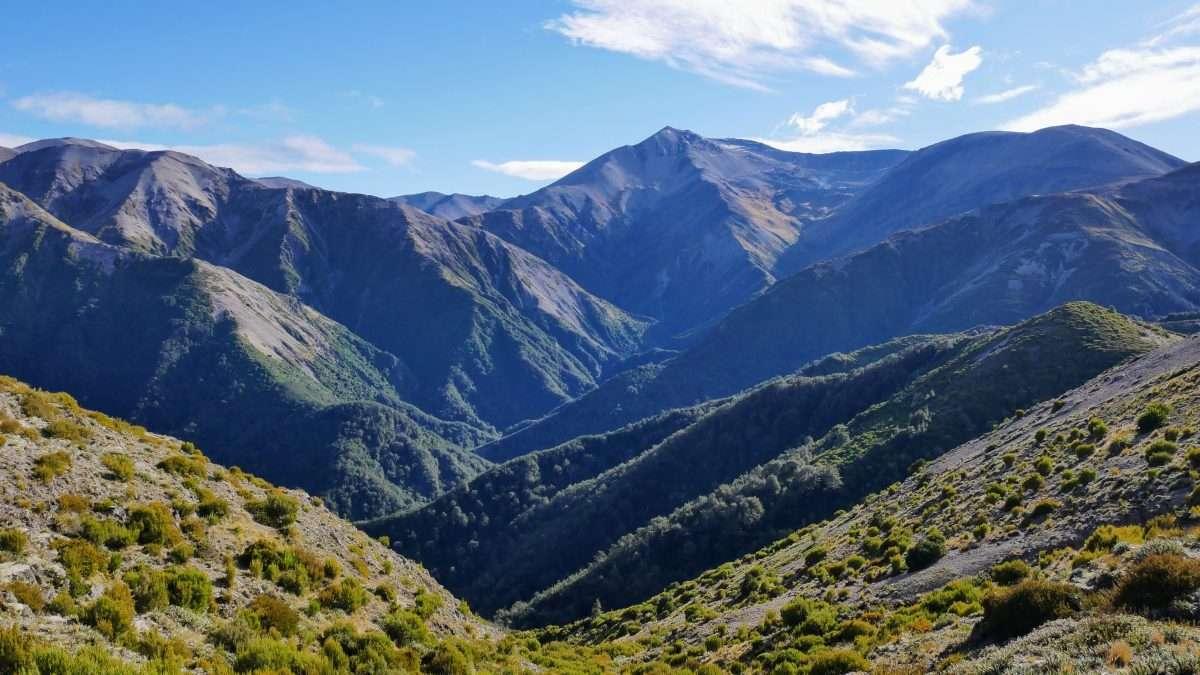 Scotts Saddle Track, Mount Hutt Range, Canterbury NZ