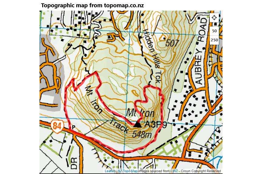 Mt Iron Circuit, Wanaka
