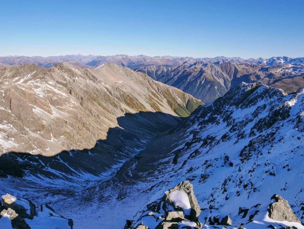Mt Cassidy - Blimit Traverse, Arthur's Pass