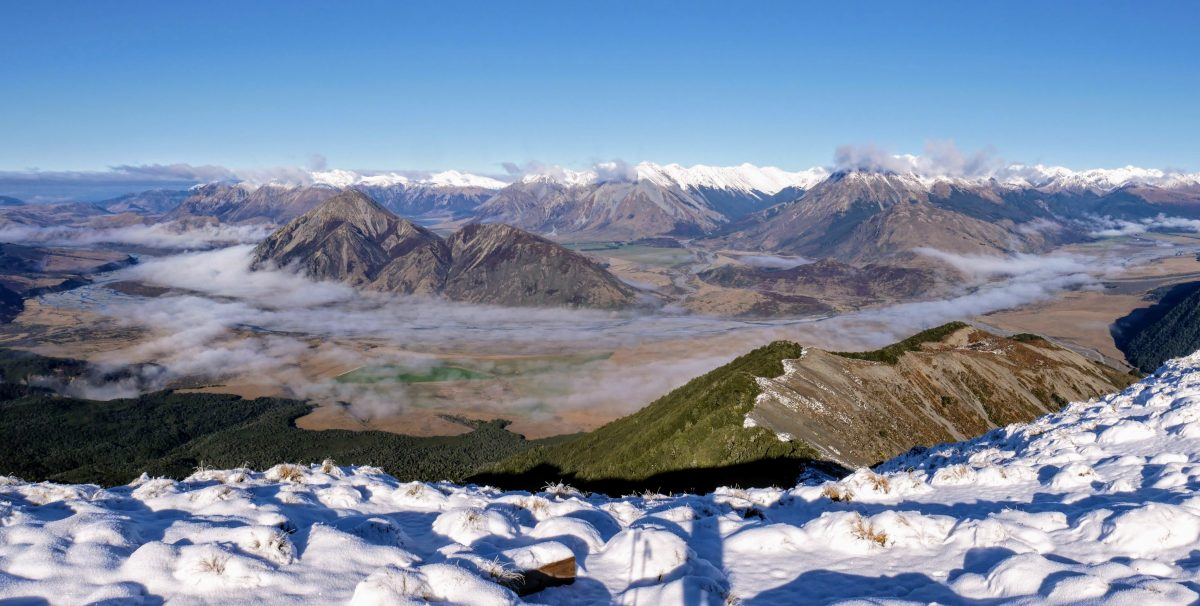 Woolshed Hill Track, Arthur's Pass National Park NZ