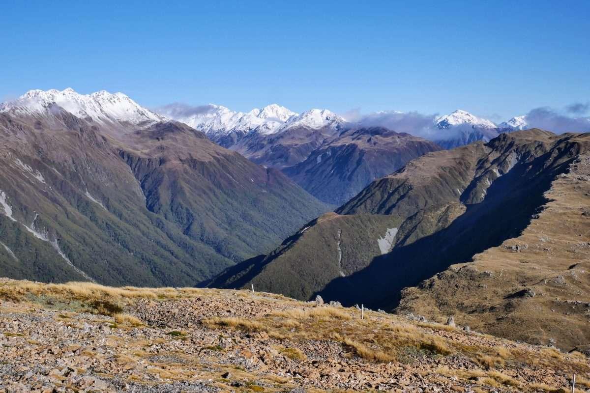 Kellys Hill via Carroll Hut, Arthur's Pass National Park NZ